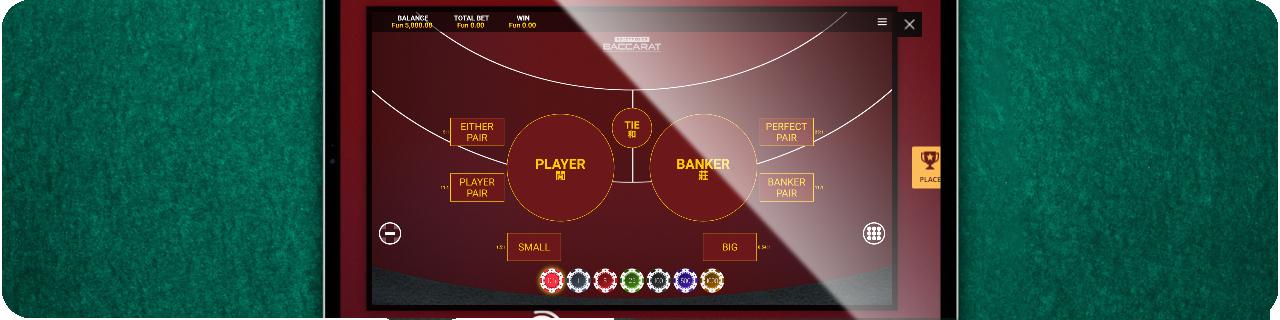 top online baccarat casino