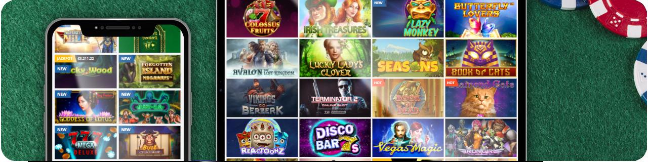 games in online casino