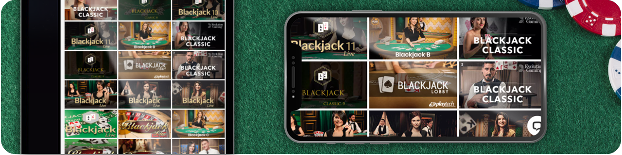 online casinos with blackjack