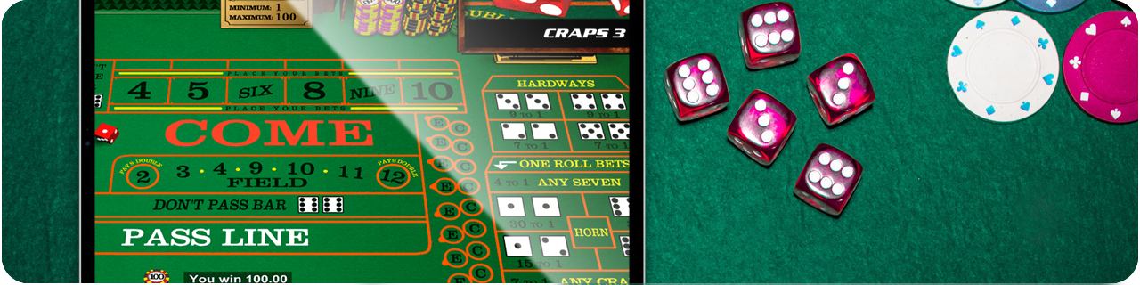 table for craps